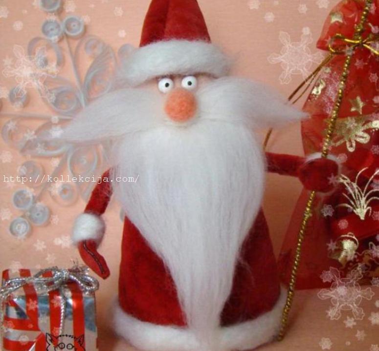 Дед мороз своим руками поделка